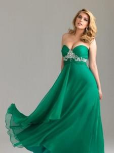 vestidos de fiesta para gorditas verde (2)