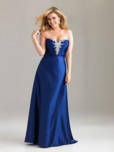 vestidos de fiesta para gorditas azul turquesa (2)