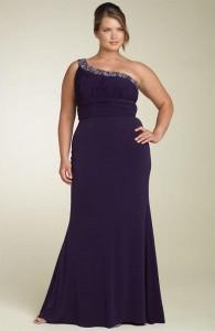vestidos de fiesta para gorditas azul turquesa (3)