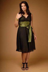 vestidos de fiesta para gorditas bajitas (2)