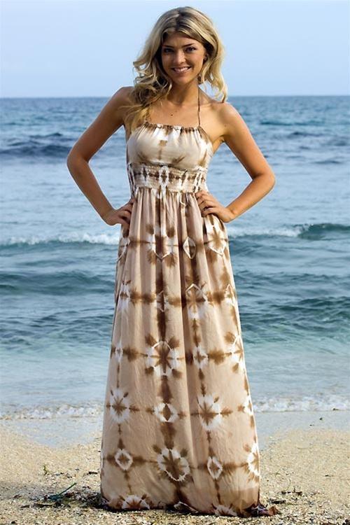 Vestidos para bodas en la playa para gorditas