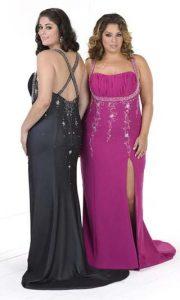 vestidos de fiesta para gorditas a la moda (7)