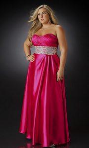 vestidos de fiesta para gorditas rojos (1)