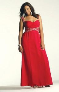 vestidos de fiesta para gorditas rojos (3)