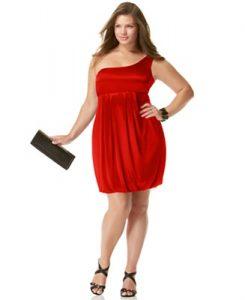vestidos de fiesta para gorditas rojos (4)