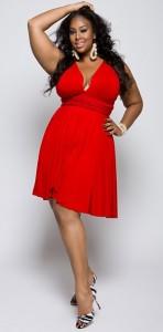 vestidos de fiesta para gorditas rojos (9)