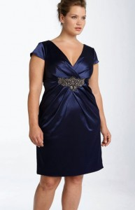 cómo reutilizar vestidos de fiesta para gorditas (11)
