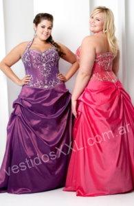 vestidos de fiesta de 15 para gorditas (9)