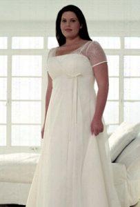 vestidos de fiesta para gorditas de corte imperio (7)