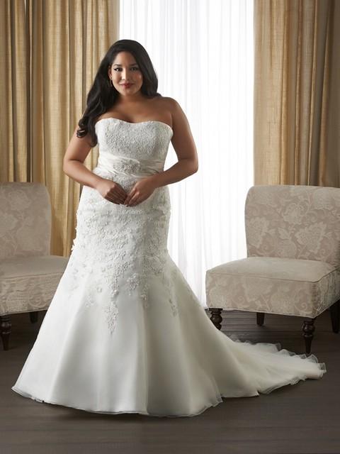 Vestidos de novia corte sirena gorditas