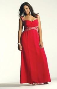 Vestidos rojos para gorditas (1)