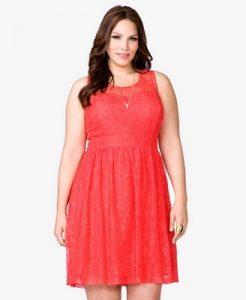 Vestidos rojos para gorditas (4)