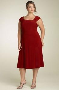 Vestidos rojos para gorditas (8)