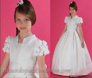 Vestidos de primera comunión para gorditas (11)