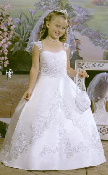 Vestidos para ninas gorditas primera comunion