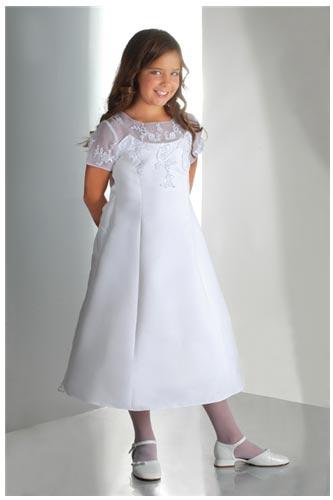 Vestidos de comunion para ninas gorditas