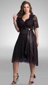 Bellos vestidos de fiesta para gorditas (10)