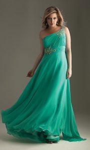 Fotos de hermosos vestidos de fiesta para gorditas (6)