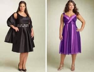 Hermosos vestidos de fiesta a la rodilla para gorditas (13)