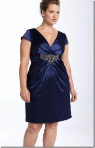 Hermosos vestidos de fiesta a la rodilla para gorditas (4)