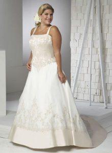 Hermosos vestidos de novia para gorditas  (19)