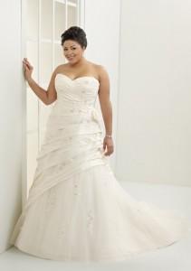 Hermosos vestidos de novia para gorditas  (26)