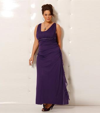 Vestidos elegantes para mujeres con mucho busto