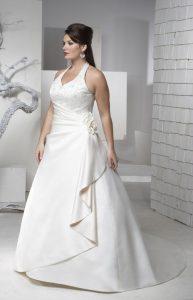 Hermosos vestidos para novias gorditas (2)