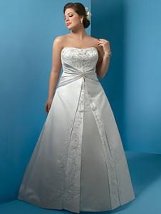 Hermosos vestidos para novias gorditas (3)