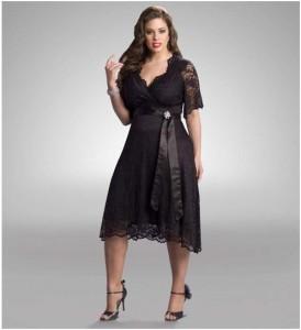 15 imágenes de vestidos de fiesta cortos para gorditas (5)