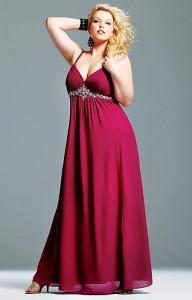 15 imágenes de vestidos de fiesta para gorditas con brillo (10)