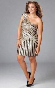 15 imágenes de vestidos de fiesta para gorditas con brillo (2)