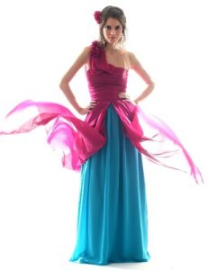11 opciones de vestidos de fiesta para gorditas coloridos (2)