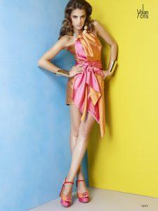 11 opciones de vestidos de fiesta para gorditas coloridos (6)