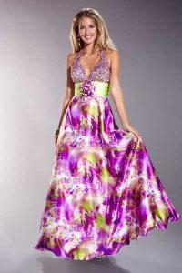15 opciones de hermosos vestidos de fiesta para gorditas estampados (10)