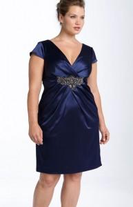 15 opciones de hermosos y sencillos vestidos de fiesta para gorditas  (12)