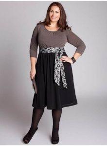 15 opciones de hermosos y sencillos vestidos de fiesta para gorditas  (4)