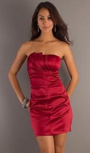 15 opciones de vestidos de fiesta para gorditas cortos para Navidad (10)