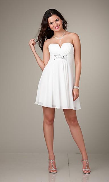 840ecb8a7e 15 opciones de vestidos de fiesta para gorditas cortos para año nuevo (1)  ...