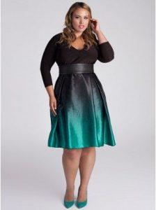 15 opciones de vestidos de fiesta para gorditas de estilo vintage (11)