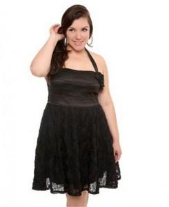 15 opciones de vestidos de fiesta para gorditas de estilo vintage (13)