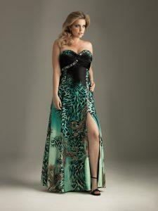 15 opciones de vestidos floreados de fiesta para gorditas (13)
