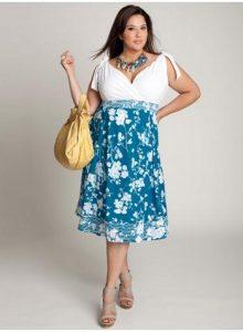 15 opciones de vestidos floreados de fiesta para gorditas (5)