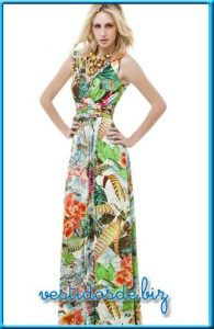 15 opciones de vestidos floreados de fiesta para gorditas (8)
