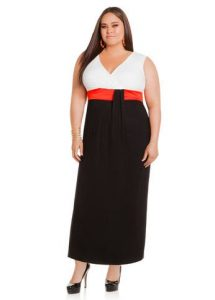 Vestidos de fiesta cortos para gorditas 2015 (3)