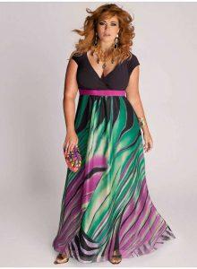 Vestidos de fiesta largos para gorditas 2015 (5)