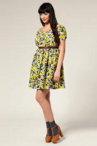 10 Hermosos modelos para gorditas con estampados florales (3)