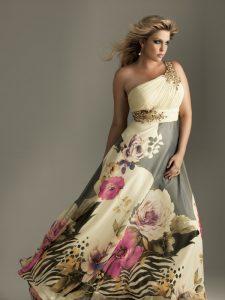 10 Hermosos modelos para gorditas con estampados florales (6)