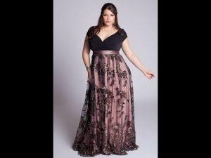 12 Hermosos vestidos de terciopelo para gorditas (6)