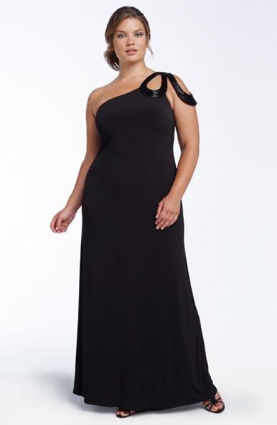 2d6e85883 13 Bellos vestidos para gorditas y bajitas (1) ...